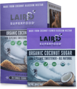 Laird Superfood Organic Coconut Sugar Go Pack