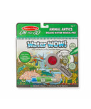 Melissa & Doug Water WOW! Animal Antics Deluxe Water Reveal Pad
