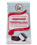 Theo Limited Edition Dark Chocolate Covered Peppermint Marshmallows