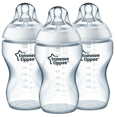 Tommee Tippee Closer to Nature Added Cereal Bottles 3 Pack