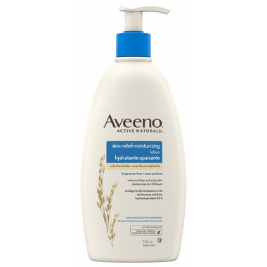 Aveeno Skin Relief Moisturizing Lotion Bottle