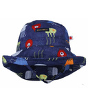 Snug As A Bug Adjustable Sun Hat PB & Jelly Fish