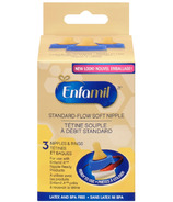 Enfamil Standard-Flow Soft Nipples