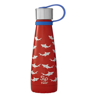 S\'ip x S\'well Water Bottle Shark Bite