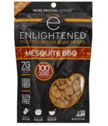 Enlightened Roasted Broad Bean Crisps Mesquite BBQ