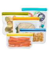 (re)zip Lay-Flat Leakproof Storage Bag Kit Multi Colour