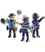 Playmobil City Action ensemble de figurines policiers
