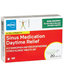 atoma Sinus Medication DayTime Relief Extra Strength Non Drowsy