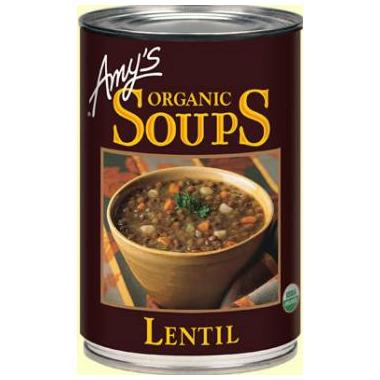 Amy\'s Organic Lentil Soup
