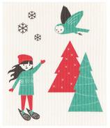 Now Designs Swedish Dishcloth Snow Much Fun