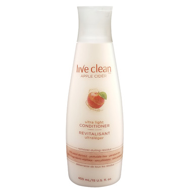 Live Clean Apple Cider Ultra Light Conditioner Limited Edition Bonus Size