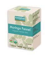Rootalive Organic Moringa Fennel Tea