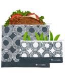 Lunchskins Reusable Zip Bag Set Circles