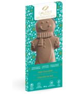Galerie au Chocolat Milk Chocolate Gingerbread Man Shaped Bar