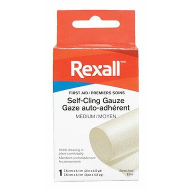 Rexall Self Clinging Gauze Bandage Medium