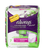 Always Sensitive Discreet Maximum Absorbency Incontinence Underwear