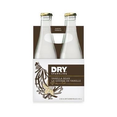 DRY Sparkling Vanilla Bean Soda