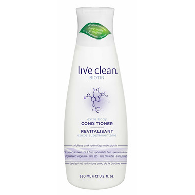 Live Clean Extra Body Biotin Conditioner