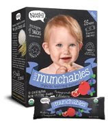 Nosh Baby Munchables Organic Teething Wafers Pomegranate & Blueberry