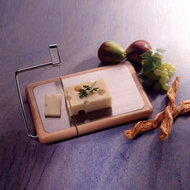 Prodyne Beechwood with Stainless Steel Inlay Cheese Slicer