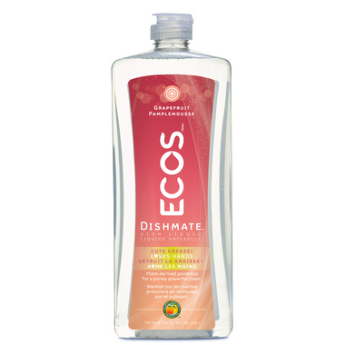 ECOS Dishmate Hypoallergenic Dish Soap Grapefruit