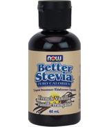 NOW Better Stevia Liquid Sweetener French Vanilla