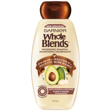 Garnier Whole Blends Avocado Oil Shea Butter Nourishing Shampoo