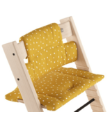 Stokke Tripp Trapp Cushion Organic Cotton Ocker Bee
