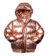 Appaman Puffy Coat Rose Gold