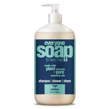 EO Everyone Soap for Men Sage & Verbena Large