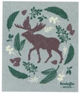 Now Designs Ecologie Swedish Sponge Cloth Winter Moose
