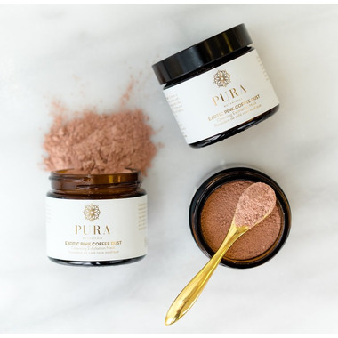 Pura Botancials Exotic Pink Coffee Dust Cleansing Exfoliation Mask