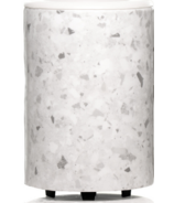Happy Wax Mod Warmer White Terrazzo