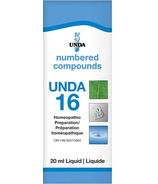 UNDA Numbered Compounds UNDA 16 Homeopathic Preparation