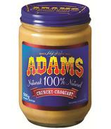 Adams 100% Natural Crunchy Peanut Butter