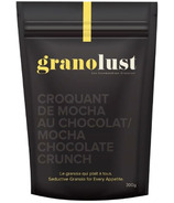 Granolust Mocha Chocolate Crunch Granola