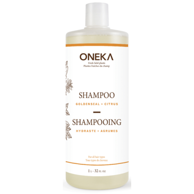Oneka Goldenseal & Citrus Shampoo Large