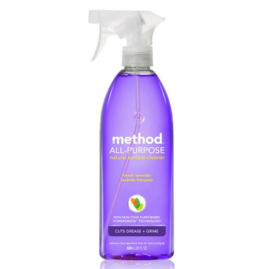 Method All-Purpose Natural Surface Cleaning Spray French Lavender
