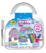 Crayola Scribble Scrubbie Pets Cloud Rainbow Playset
