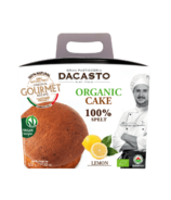Dacasto Vegan Organic Italian Cake with Lemon