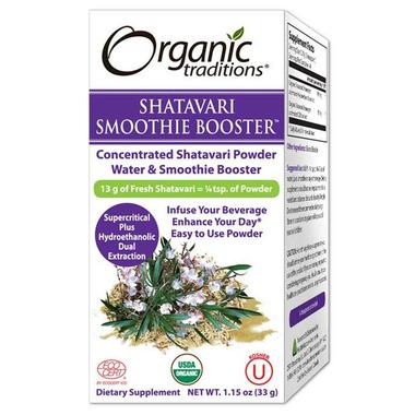 Organic Traditions Shatavari Smoothie Booster