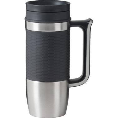Trudeau Boardroom Travel Mug Grey