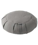 Halfmoon Yoga Round Meditation Cushion Fossil Grey