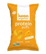 iWon Organics Cheddar Cheese Protein Puffs