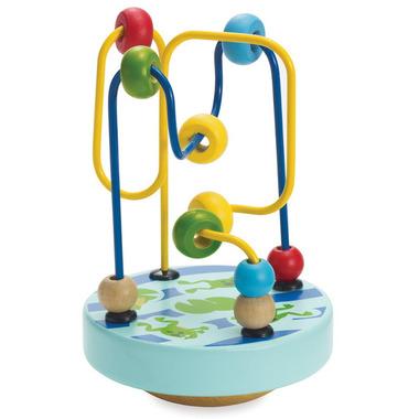 Manhattan Toy Wobble-A-Round Beads Blue
