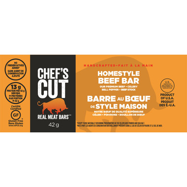 Chef\'s Cut Beef Bar Homestyle