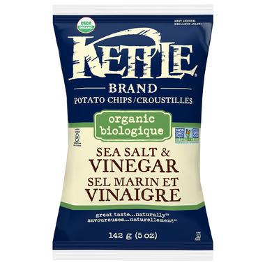 Kettle Organic Sea Salt & Vinegar Chips