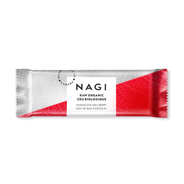 NAGI Organic Raw Energy Bar Chocolate Goji Berry