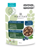 Navitas Naturals Organic Power Snacks Blueberry Hemp