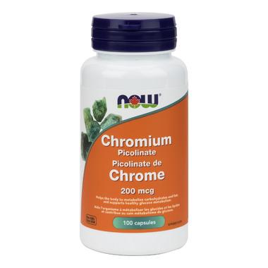 NOW Foods Chromium Picolinate 200 mcg